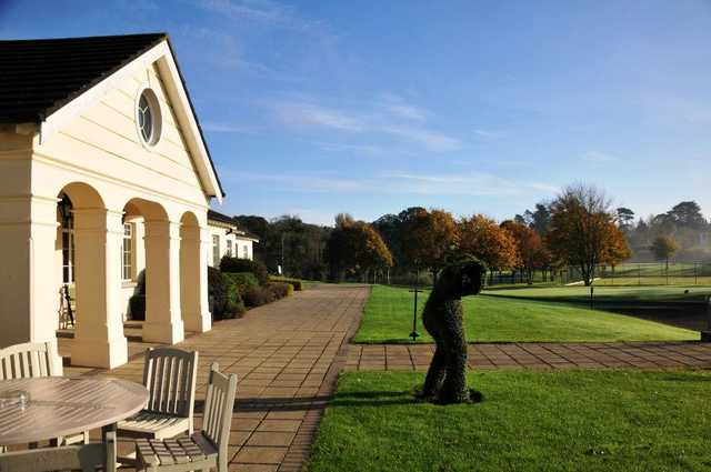 A view of the clubhouse at Nuremore Golf Club (Richard Mckee)