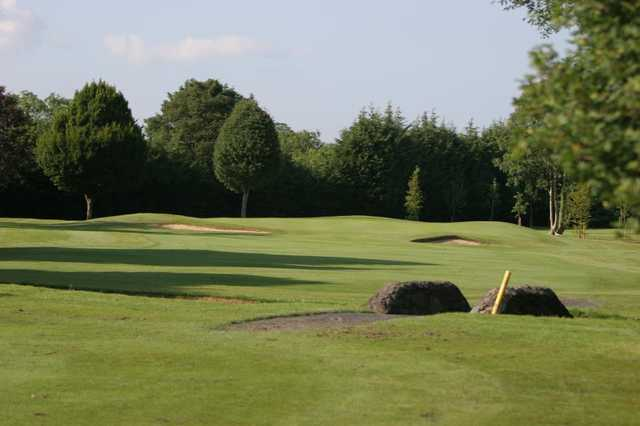 A view of a fairway at Forrest Little Golf Club