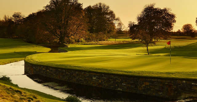 A view of hole #12 at Killeen Castle Golf Club