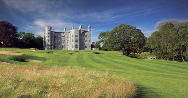 A view of the 18th fairway at Killeen Castle Golf Club