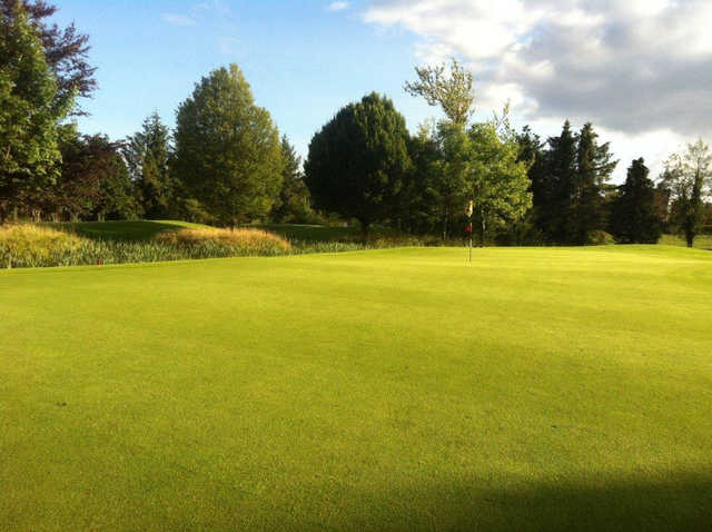 A view of a green at County Longford Golf Club