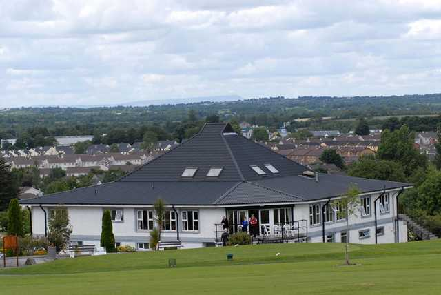 A view of the clubhouse at County Longford Golf Club