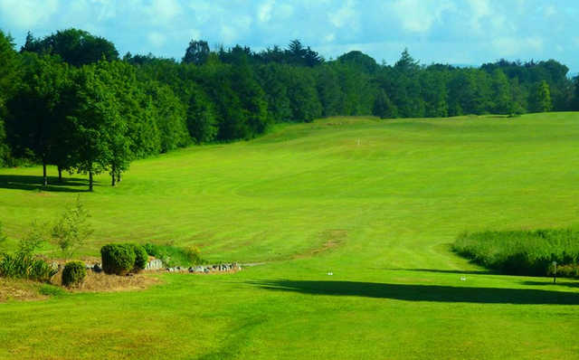 A view from the 1st fairway at Ballyneety Golf Club