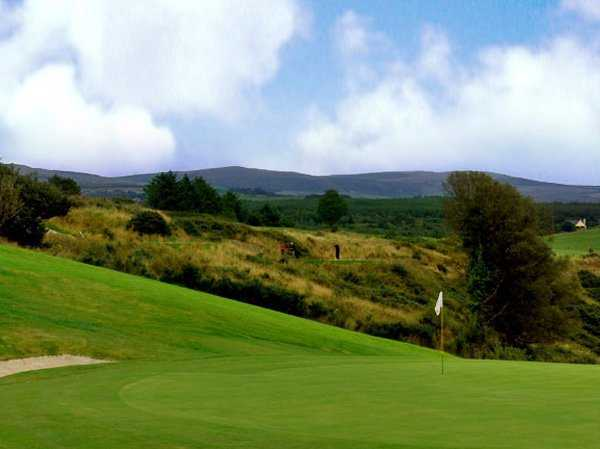 A view of the 12th hole at Castleisland Golf Club