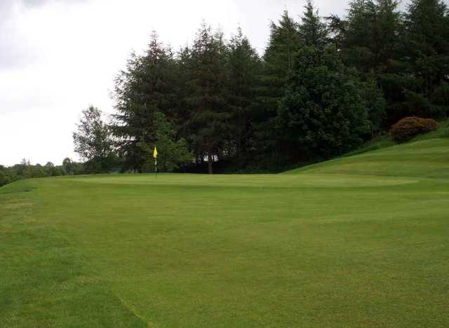 A view of the 14th green at Spa Golf Club
