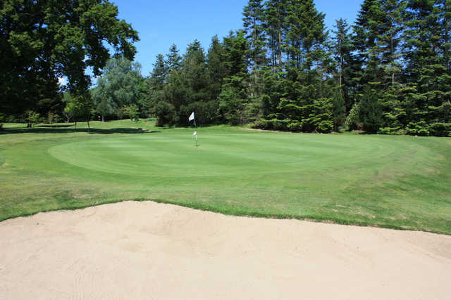 A view of hole #13 at Spa Golf Club