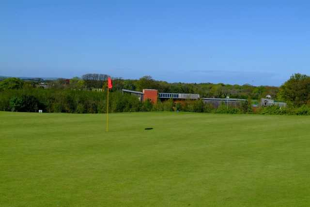 A view of the 9th hole at Hamilton Course from Blackwood Golf Centre