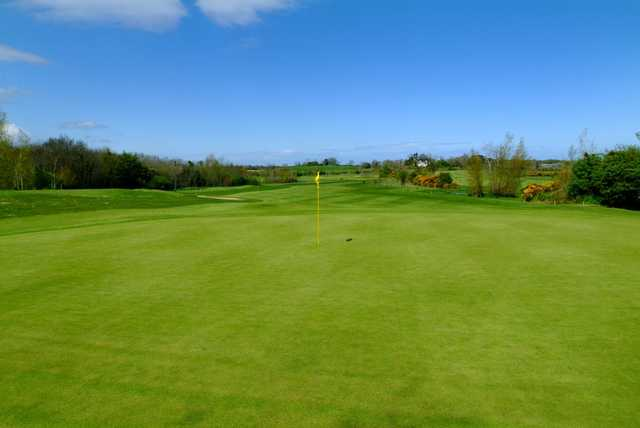 A view of green #13 at Hamilton Course from Blackwood Golf Centre