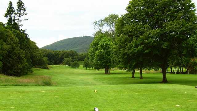 A view from a tee at Torvean Golf Club