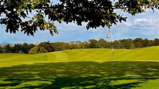 A view of a green at Baberton Golf Club