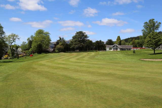 A view of a fairway at Callander Golf Club