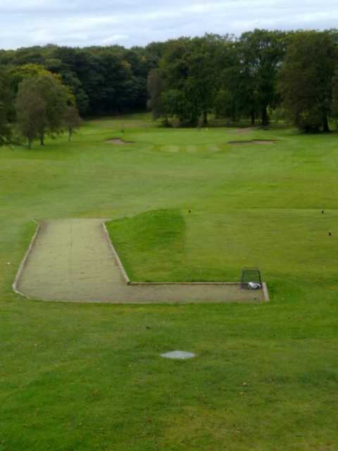 A view of the 5th tee at Crow Wood Golf Club