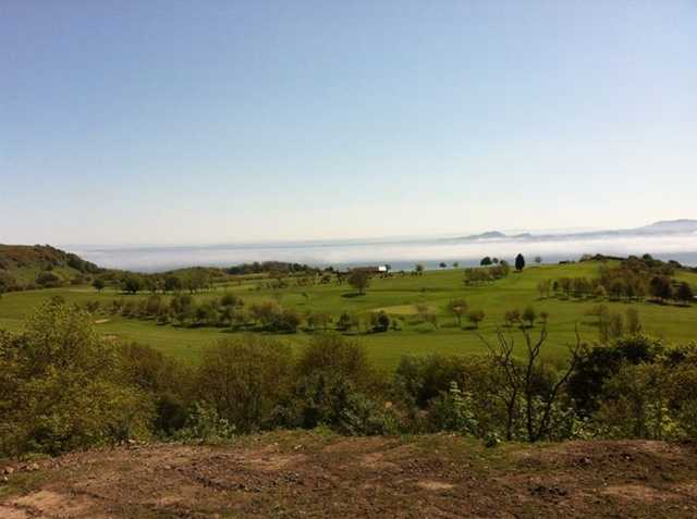 A lovely day view from Burntisland Golf House Club