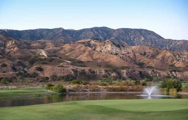 Angeles National Golf Club: View from the second hole