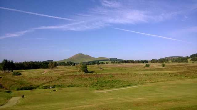 A fresh morning view from West Linton Golf Club