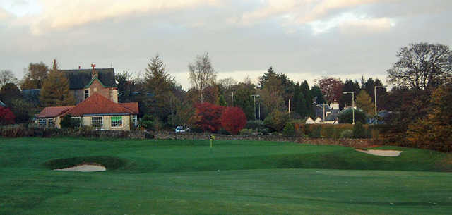 A view of hole #15 at Auchterarder Golf Club