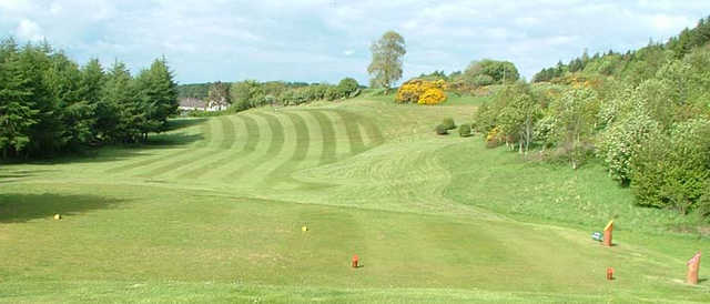 A view from a tee at Kirkcudbright Golf Club