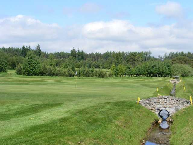 A view of the 7th hole at Kintore Golf Club