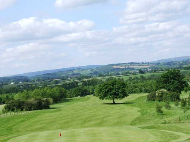 A view of a fairway at Raglan Parc Golf Club