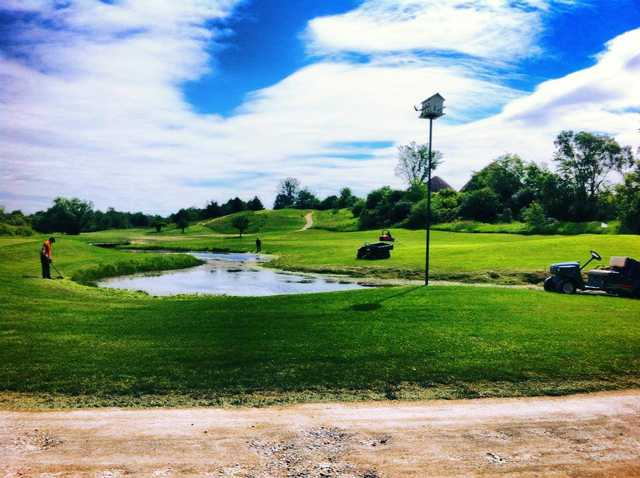 A lovely view from Oak Gables Golf Club