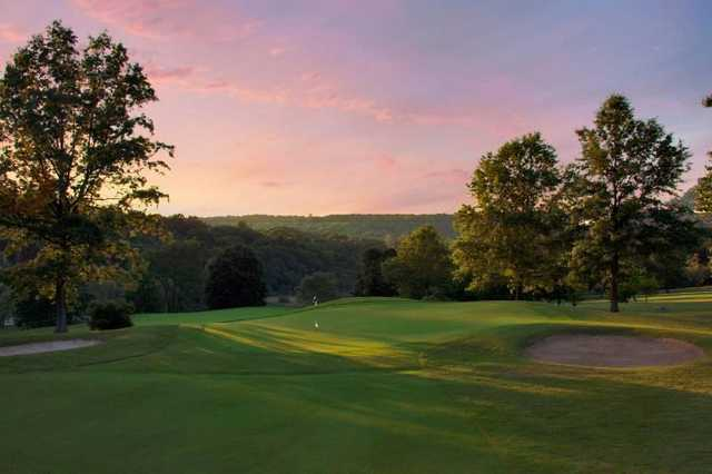 A stunning view from Putnam County Golf Course