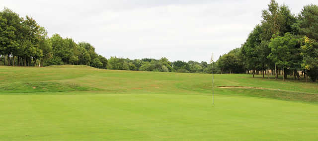 A view from the 4th green at Cotswolds Club Chipping Norton