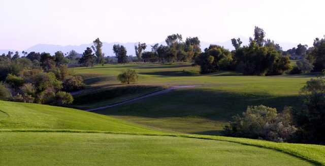 A view from the Cave Creek Golf Course