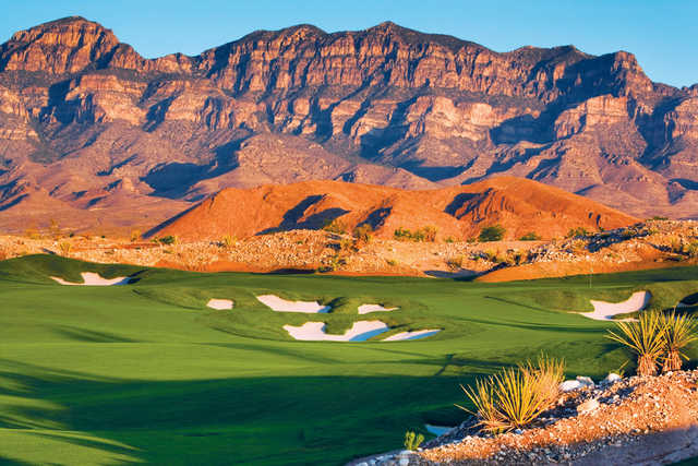 View from the 11th hole at Coyote Springs Golf Club