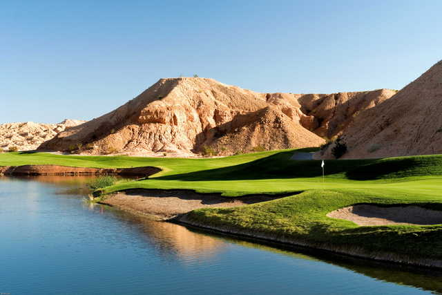 Canyons at Oasis Golf Club: View from 15th green
