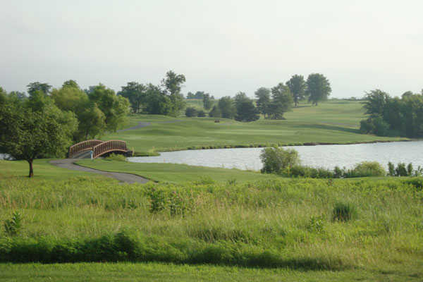 A view from Heritage Park Golf Course