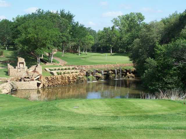 A view from a tee at SugarTree Golf Club