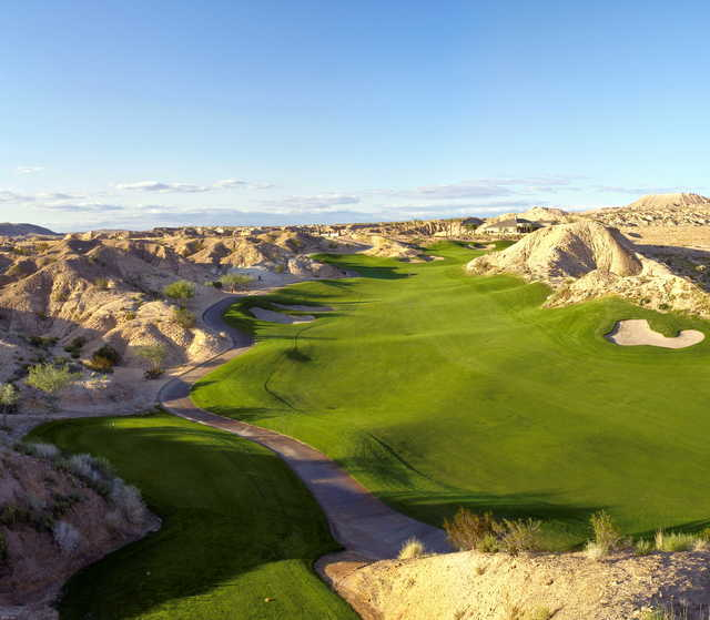 Canyons at Oasis Golf Club: View from #12