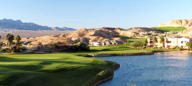 Palmer at Oasis Golf Club: View from the 8th hole