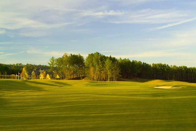 A view from a fairway at Ballantrae Golf Club