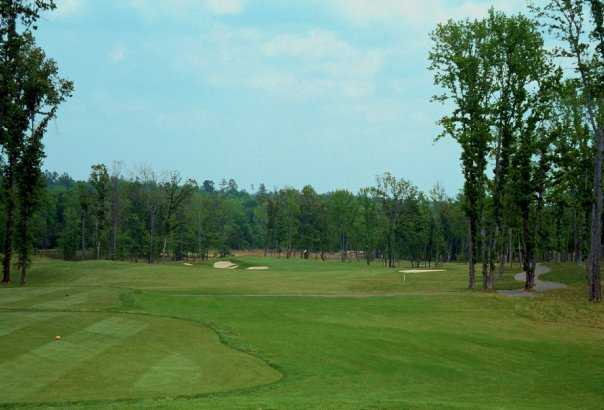 A view from tee #5 at Crooked Hollow Golf Club
