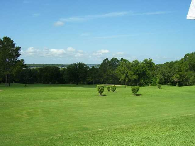 A view of a fairway at Fisherman's Cove Golf & Marina