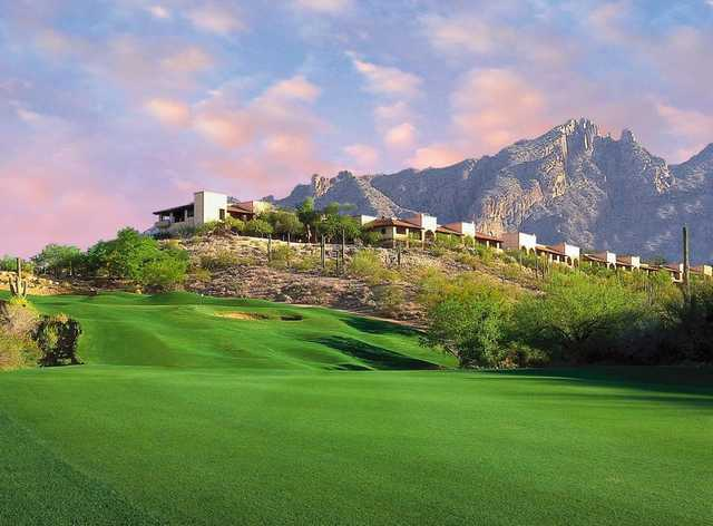 A view of a fairway from Canyon at La Paloma Country Club