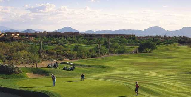 A sunny day view from Canyon at La Paloma Country Club