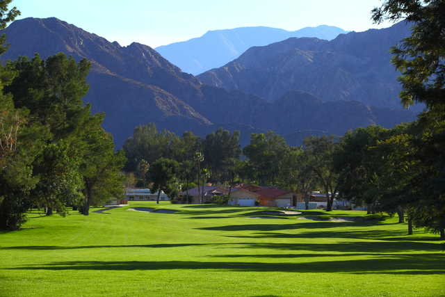 A view of fairway #12 at Palm Desert Country Club
