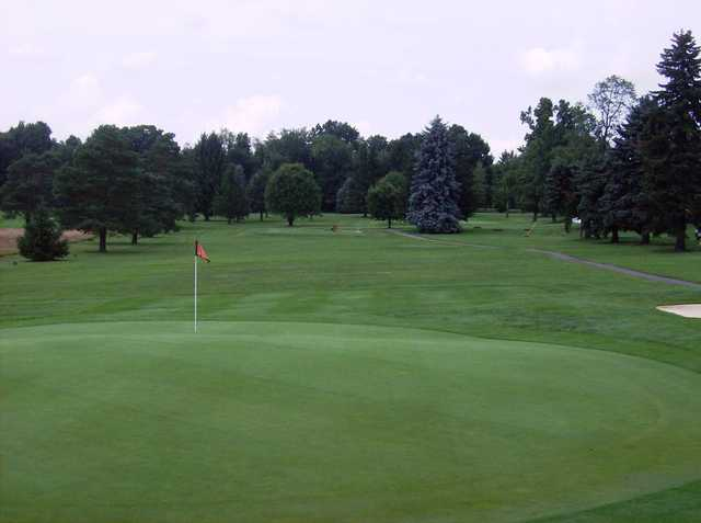 View of a green at Apollo Elks Country Club