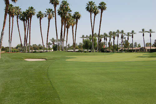 A view of the 6th hole at the Club at Morningside.