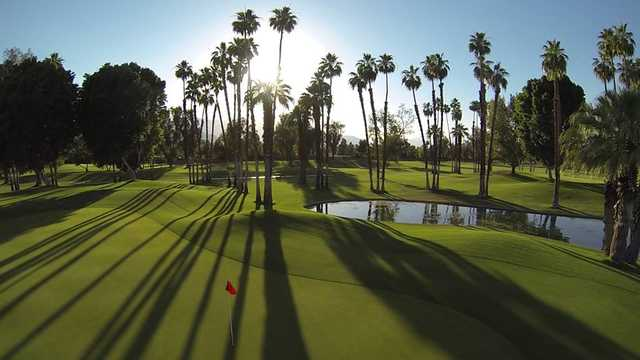A view of the 5th hole at The S at Rancho Mirage