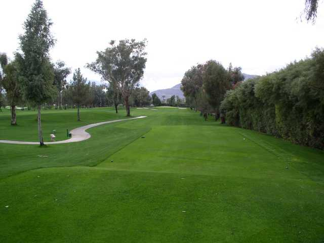 A view from a tee at The Sinatra Resort & Country Club