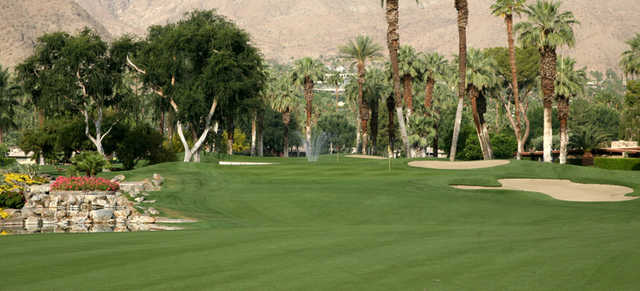 A view of a fairway at Thunderbird Country Club