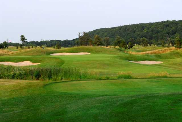 A view from a tee at Royal Niagara Golf Club