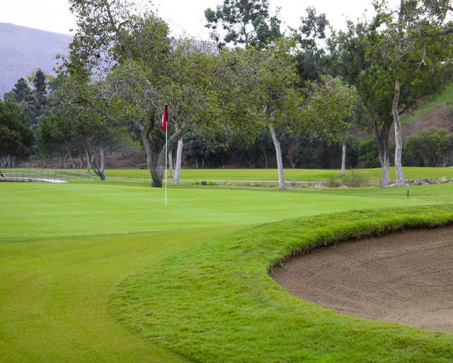 A view of a green at Bonita Golf Club