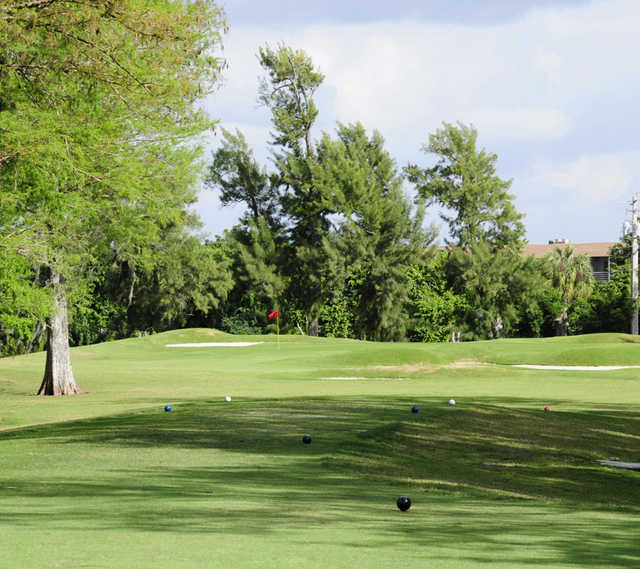 A view from a tee at Colony West Country Club