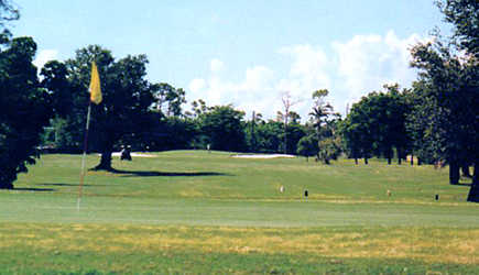 A view of a green at Killian Greens Golf Club