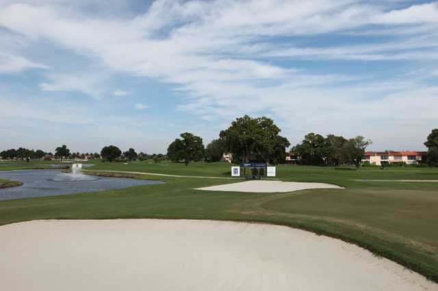 A view from Miccosukee Golf & Country Club
