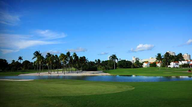 A view from La Gorce Country Club